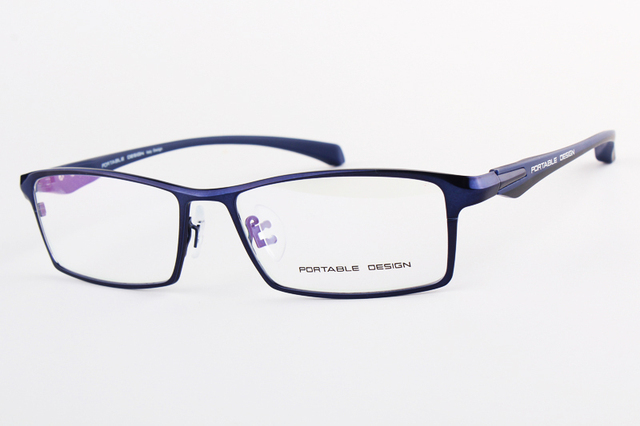 Brand Design Titanium Alloy Eyeglass Male Myopia Glasses Spectacle Frames for Men