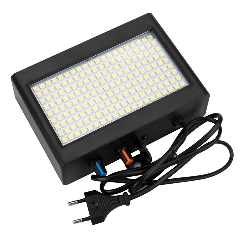 New European Standard 35W Sound Actived Auto 180 Pcs Led Strobe Lights KTV Party Club Pub Disco Great Stage Lamp Drop Shipping аксессуар lexo auto standard тв тюнер автомобильный