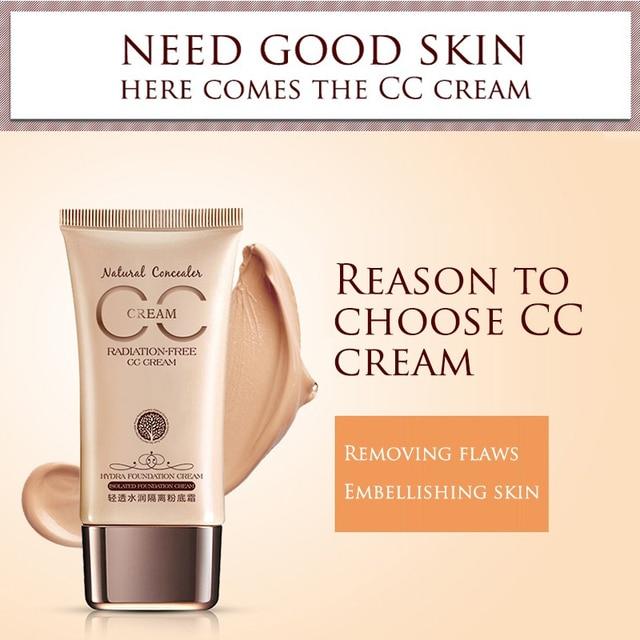 Visage hydratant contrôle maquillage liquide fondation gel de ségrégation performance cc crème bb crème anti-cernes fond de teint 4