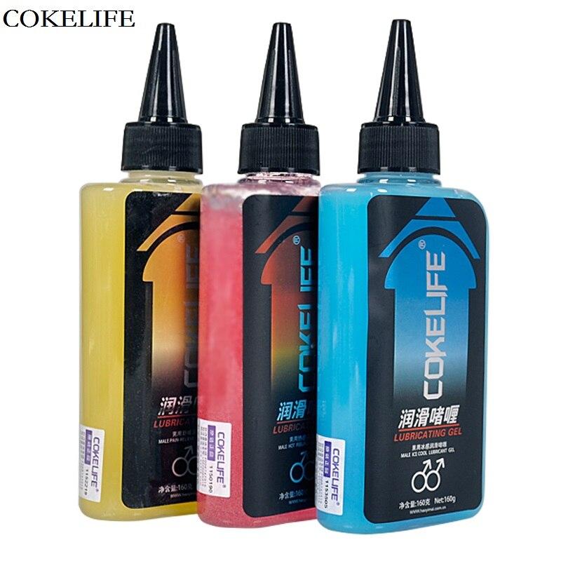 Cokelife 160g anal analgésico agua lubricante sexo Bases hielo caliente lubricante y alivio del dolor anti-dolor sexo anal aceite para elegido