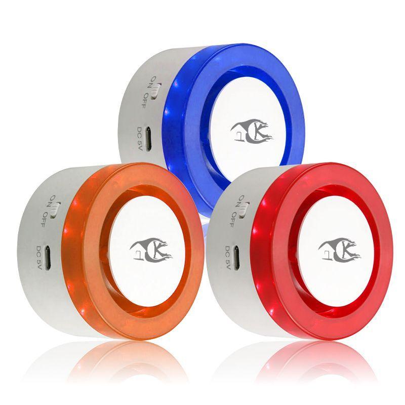 Tuya Graffiti Alarm Smart Life APP Controls WiFi Alarm Audible And Visual Alarm
