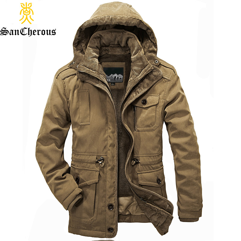 Popular Mens Heavy Winter Coats Jackets-Buy Cheap Mens Heavy ...