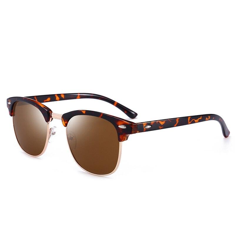 VCKA классический мужской поляризованные очки Для мужчин Для женщин Винтаж открытый квадратное зеркало солнцезащитные очки UV400 лучей Drive очк...