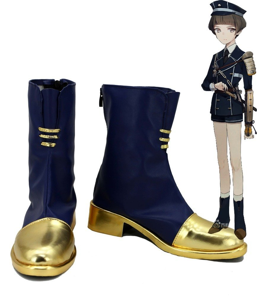 Touken Ranbu Online Game Hirano Toushirou Cosplay Shoes Boots Custom Made