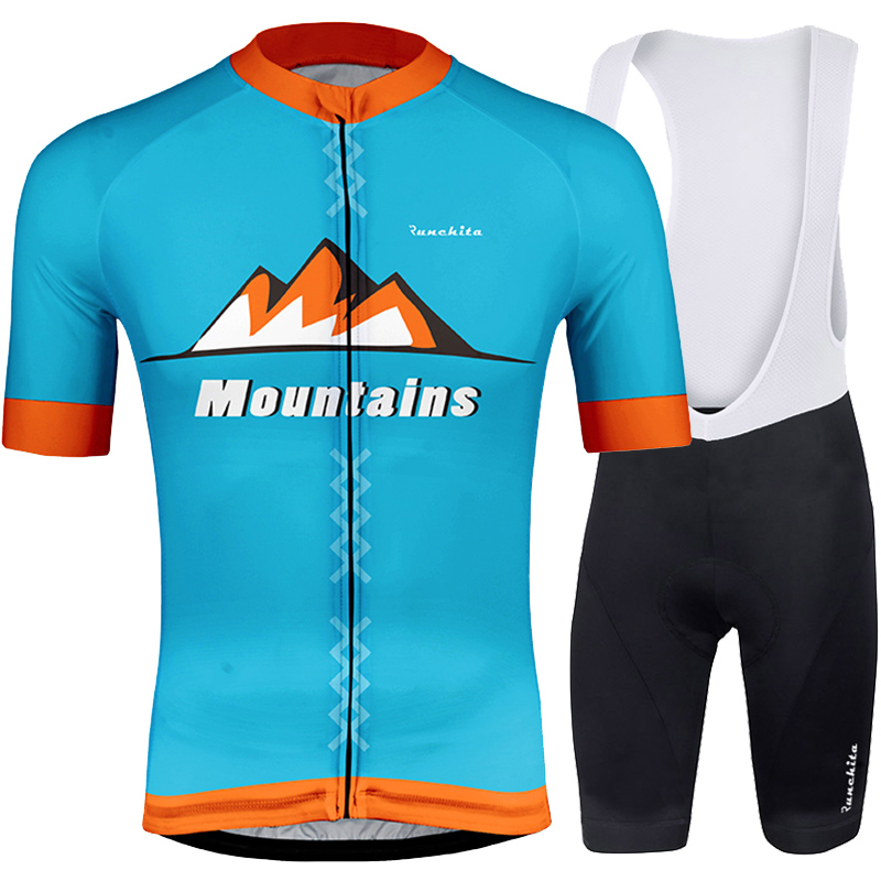 Detail Feedback Questions about RUNCHITA 2019 Cycling Jersey Short Sleeve  set bike Clothing maillot ciclismo Custom MTB Jerseys High Quality  Sublimation ... a34541bc3