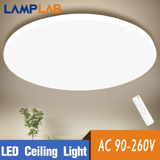 Modern Led Ceiling Light Lighting Fixture Lamp Surface Mount Living Room Remote Control Decoration Home Kitchen