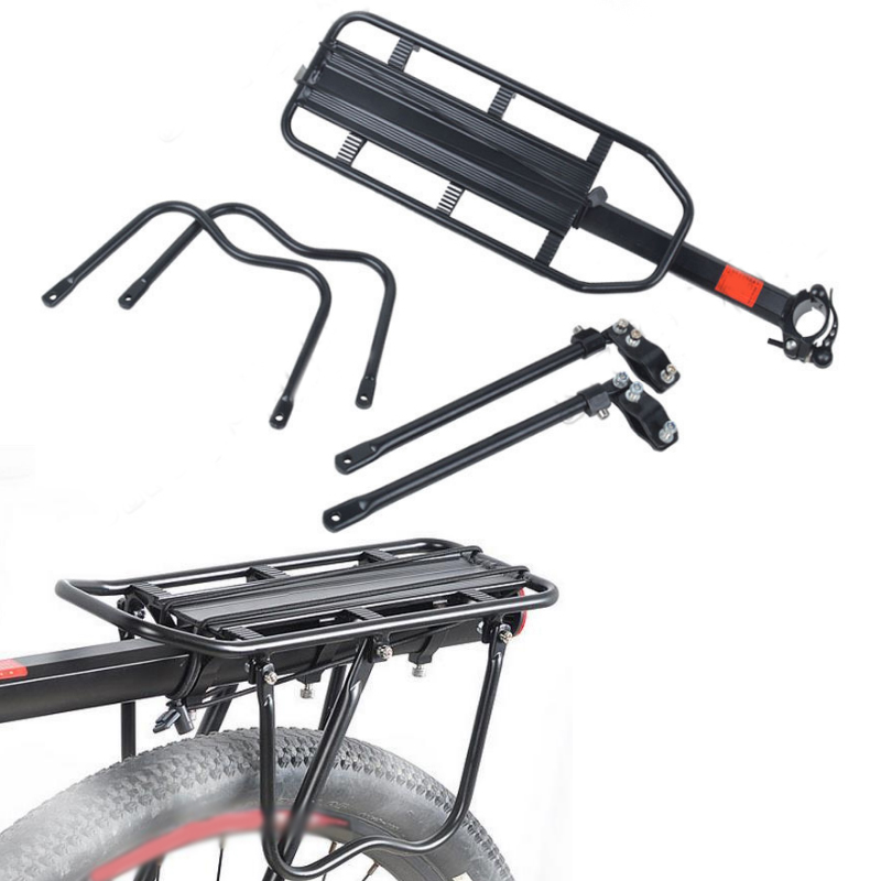 MTB Bike Bicycle Cargo Racks Cycling Quick Detachable Rear Shelf  Aluminum alloy Black Mountain Bike Equipment Accessories цена 2017