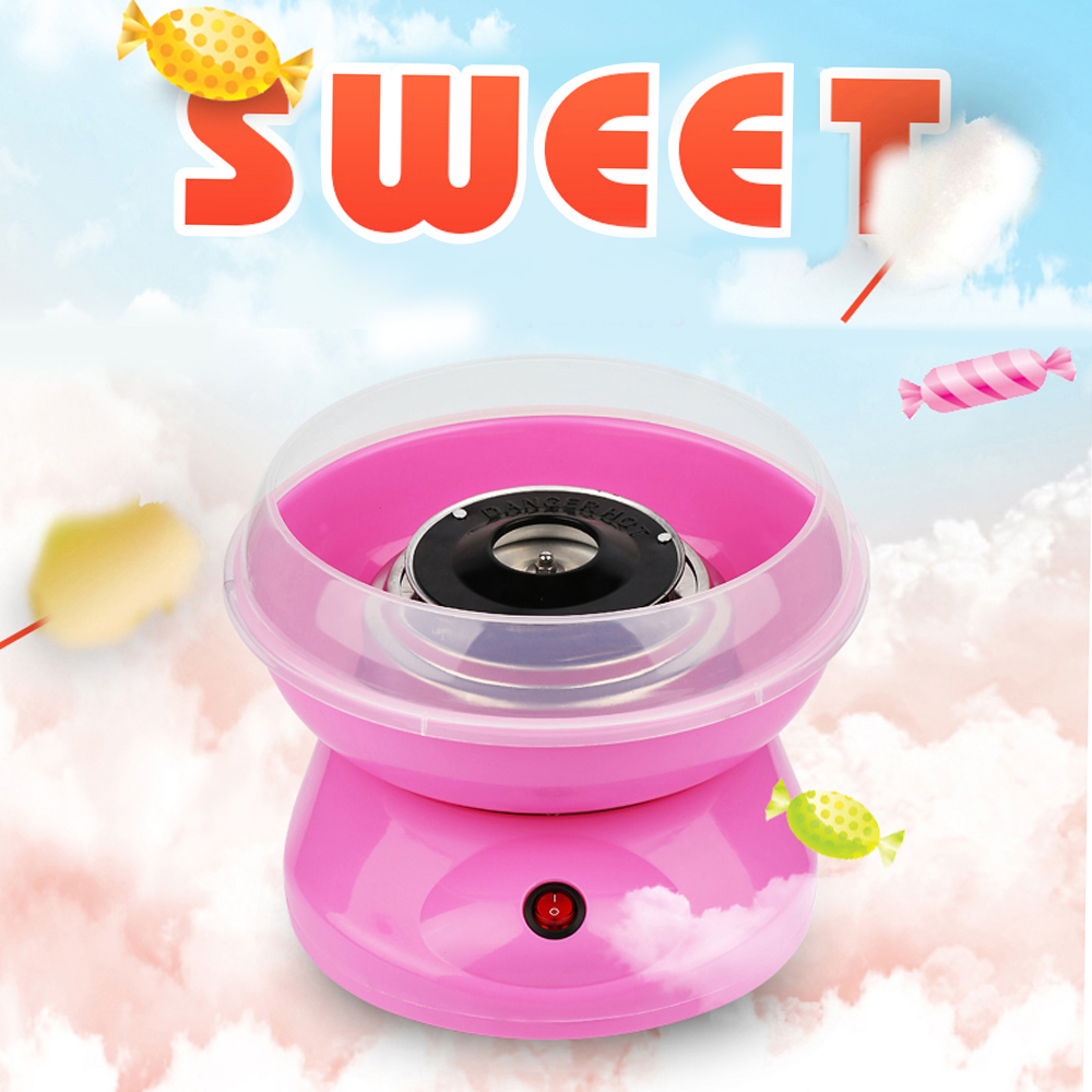 Mini Electric DIY Candy Floss Spun Sugar Maker Machine Home Sweet Sugar Cotton Candy Maker For Kids Family Gift EU PlugMini Electric DIY Candy Floss Spun Sugar Maker Machine Home Sweet Sugar Cotton Candy Maker For Kids Family Gift EU Plug