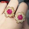 Real anillo de Rubí joya de piedra natural real 925 anillos de plata esterlina de la mujer joyería de la boda de baile noble real