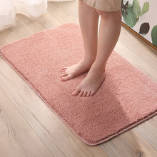 6 Colors Solid Rugs Pink Carpet Thicker Bathroom Non-Slip Absorbent Mat Area Rug For Living Room Soft Child Bedroom Carpets