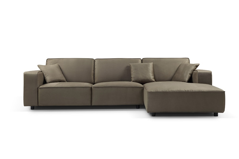 Promotion Modern Furniture Living Room Unfolding Sectional Sofa With Stainsteel Legs Mcno0645 In Sofas From On Aliexpress