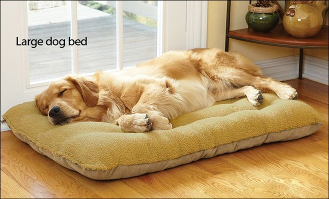 מיוחדים מזרן מיטת כלב גדול מיטת יוקרה להסרה לכביסת לעבות חורף לכלב גדול JY-46