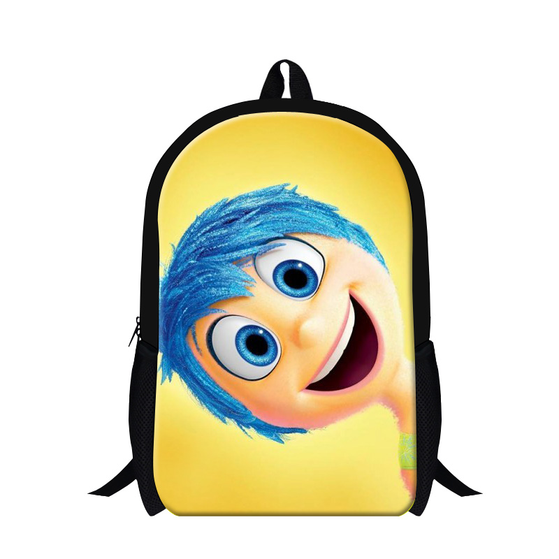 Cartoon Character Print School Bag For Girls Boys Teenagers Cute ...