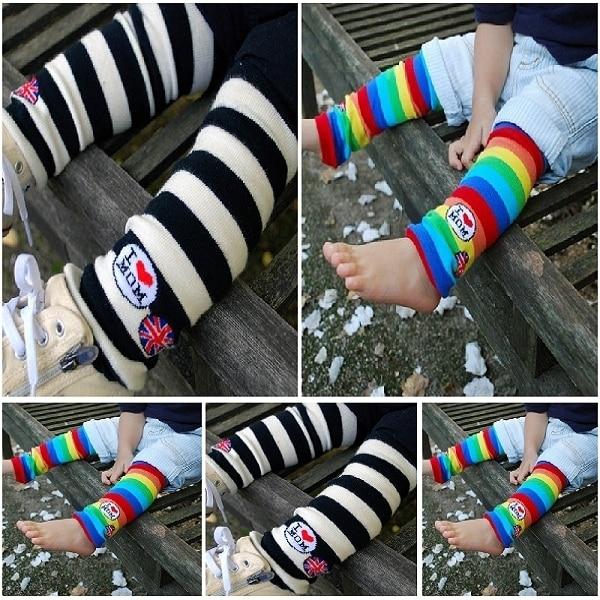 100% cotton multifunctional children Leg Warmers classic kneepad oversleeps ankle sock 10pair/lot