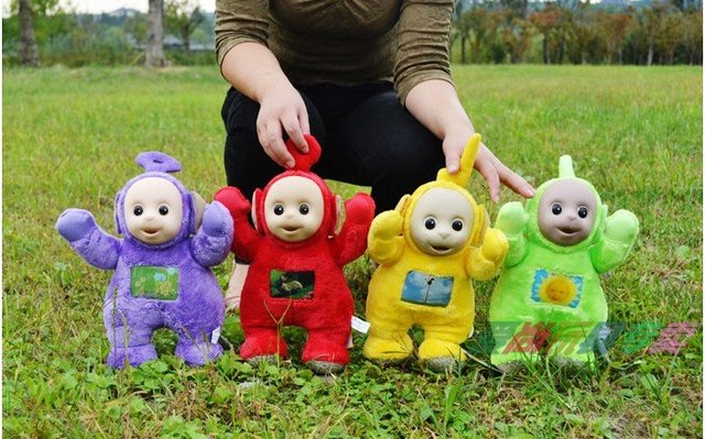 free shipping,4pcs/set,new arrived ,Teletubbies doll , Teletubbies toys,Teletubbies Stuffed & Plush  rag doll wholesale