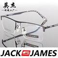 Praça caixa de armações de óculos de olho para homens e mulheres óculos de armação de óculos de prescrição moda mens óculos 32032