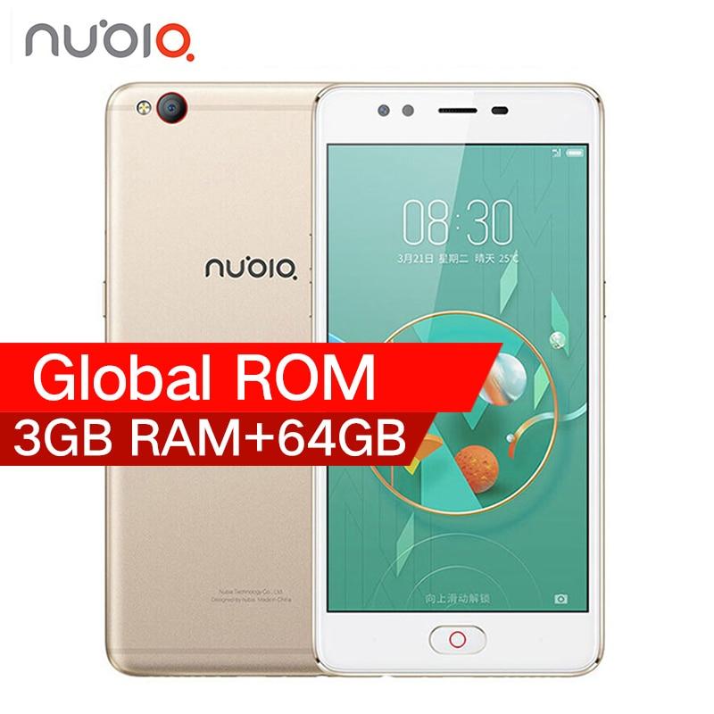 D'origine 2017 ZTE Nubia M2 LITE 4G LTE MT6750 Octa base Android M 5.5 3G RAM 64 GB ROM 16.0MP 3000 mAh Batterie Smartphone