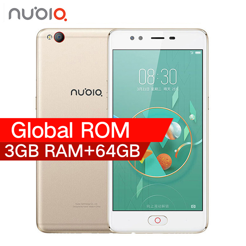 "Original 2017 ZTE Nubia M2 LITE 4G LTE MT6750 Octa Core Android M 5.5"" 3G RAM 64GB ROM 16.0MP 3000mAh Battery Smartphone"