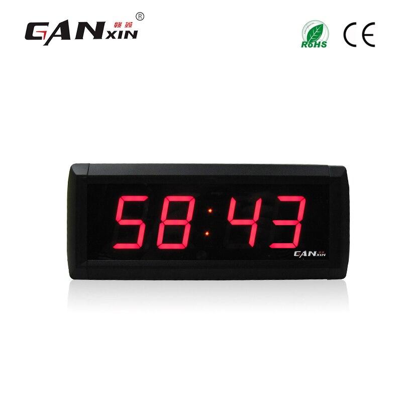 [Ganxin] 1,8 хит продаж светодиодные цифровые таймер офисные часы электронные настольные часы настенные часы