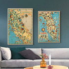 Vintage Map 1935 Ame...
