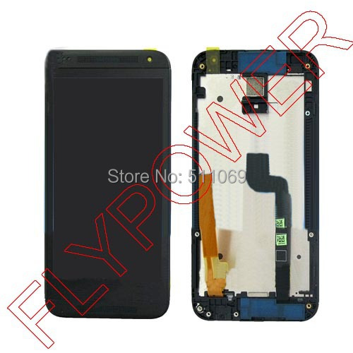 For HTC Desire 6160 LCD Display with Touch Screen Digitizer black Color by free shipping lcd screen display touch panel digitizer for htc bolt for htc 10 evo white or black color free shipping