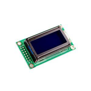 Image 3 - 10 개/몫 뜨거운 판매 8x2 LCD 모듈 0802 문자 디스플레이 화면 파란색 또는 녹색