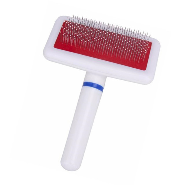 Compact Stainless Steel Dog Brush