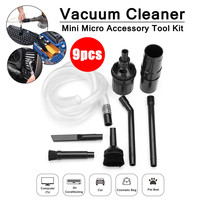 9PC Mini Tool Crevice Brush Clean Kit For Cleaning Small Areas Narrow Spaces Between Computer Keyboard