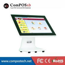 Super handsome appearance commercial pos 15 inch pos touch screen system with WIFI for night club