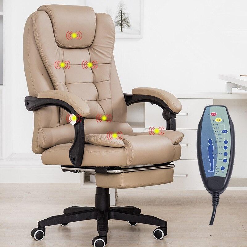 Office chair with footrest home office computer desk - Fauteuil bureau stressless ...