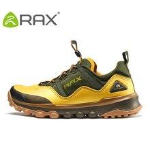 Rax ao ar livre respirável caminhadas sapatos de caminhada dos homens leve caminhada caminhadas sapatos de esporte tênis masculino
