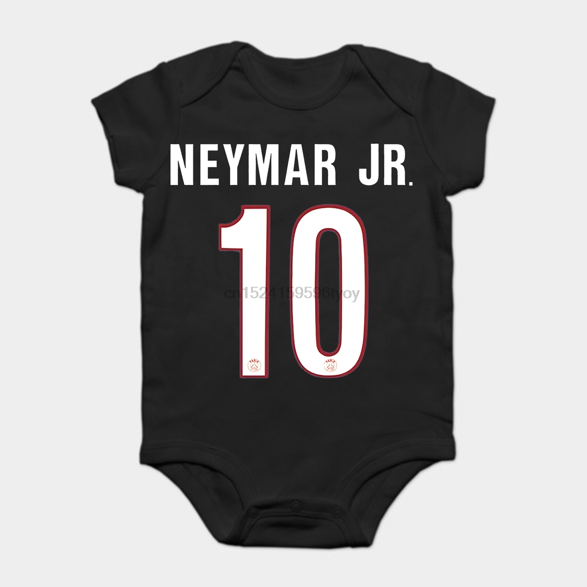 Beautiful Baby Onesie Baby Bodysuits Kid T Shirt Funny-men- -white- --black-tee-paris-10-neymar-jr-jersey-shirtfootball