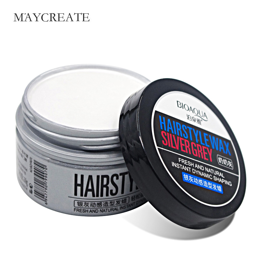 Hair Dye Disposable Gray Hair Gel Temporary Colored Hair Wax Quickly Modeling And Easy Wash Without Harm For Hair Spray Pomade image