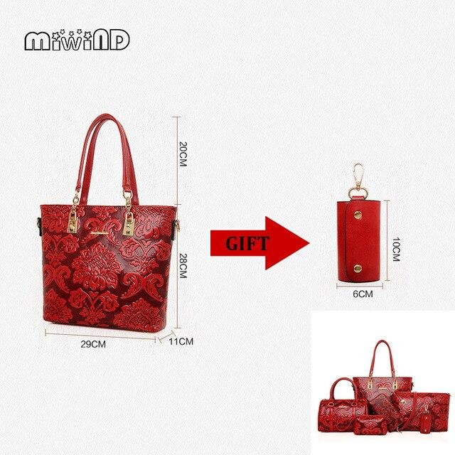MIWIND Leather Handbags...
