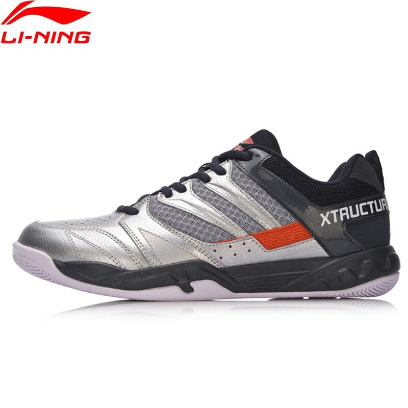 Li-ning hommes chaussures de Badminton attaquant professionnel Fitness entraînement baskets confort antidérapant doublure chaussures de sport AYTN025 SAMJ18