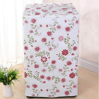 Thicker Waterproof 1 PC Durable Zippered Dust Covers Flower Pattern Home Decor 2 Type Washing Machine Cover
