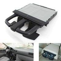 Black Front Dash Car Cup Holder Sliding for VW Jetta Bora Golf MK4 MKV Audi A3 S3 A4 A6 Q5