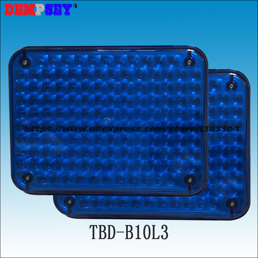 TBD-B10L3 High quality warning lights for fire truck&ambulance car,surface mounting,Waterproof,DC12V or 24V, blue/blue 134 LEDs a975got tbd b a975got tba ch a975got tbd ch touch pad