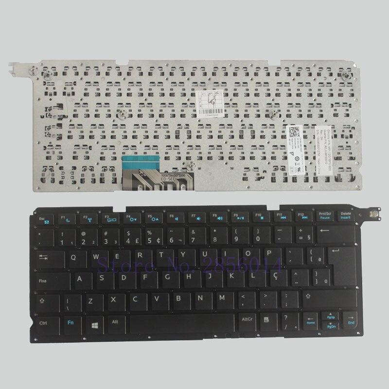 Brazil Keyboard FOR DELL Inspiron 5460 V5460 V5470 P41G 14-5439 BR black laptop keyboard without frame laptop keyboard for acer silver without frame bulgaria bu v 121646ck2 bg aezqs100110