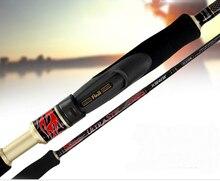spinning lure rod sea bass pole carbon Black Telescopic Fishing Rods Portable Carp Fishing Lure Fishing Rod Vara De Pesca