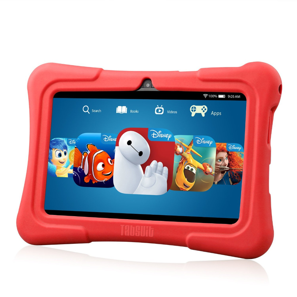 ФОТО Dragon Touch Y88X Plus 7 inch Kids Tablet for Children Quad Core Android 5.1 1GB / 8GB Kidoz Pre-Installed Best gifts for Child