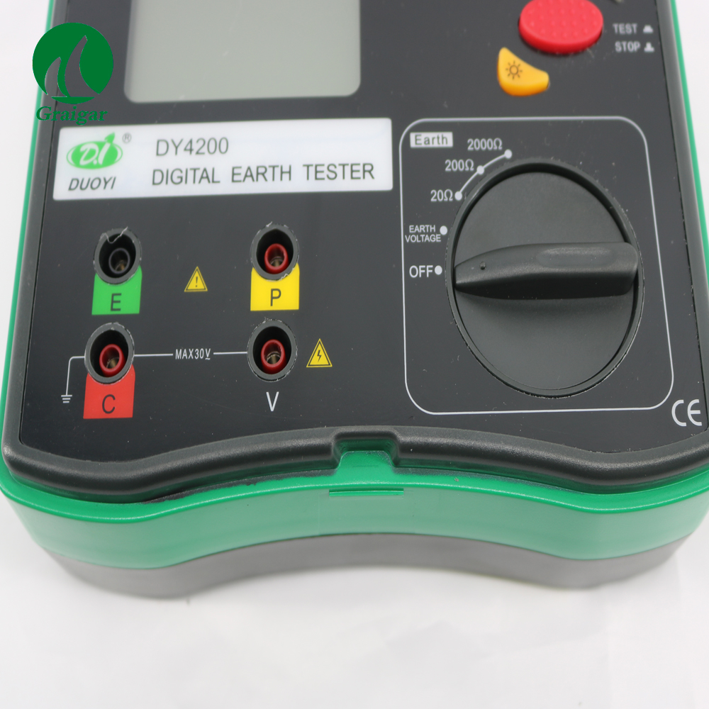 Digital Ground Resistance Tester DY4200 Measurements from 0.01 ohm to 2000 ohm arsenic removal technologies from ground water