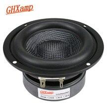 GHXAMP 4 بوصة مكبر الصوت مضخم الصوت وحدة مكبر الصوت HIFI 4ohm 40 واط الألياف الزجاجية المنسوجة حوض عميق باس مكبر الصوت كبير المغناطيسي 1 قطعة