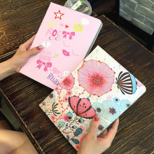 купить Case for iPad Mini 1 2 3 illustration Cute Cartoon Case Scratch Resistant Cover Hard Back Cover For ipad Mini 3 protective case дешево