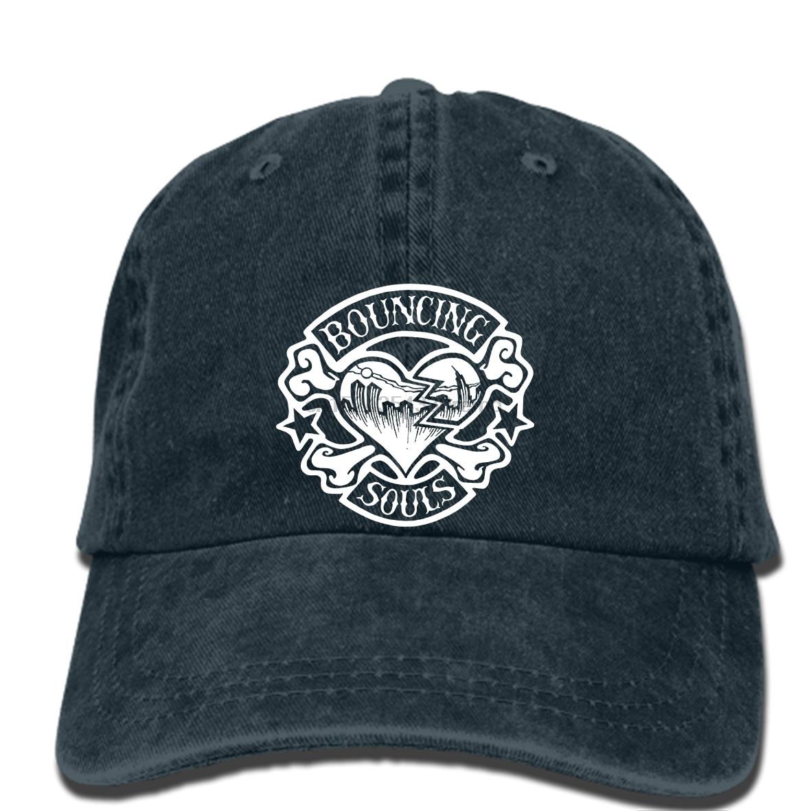 Apparel Accessories Men's Baseball Caps Hip Hop Baseball Caps The Bouncing Souls Cap New Brunswick American Punk Rock Band Black New Hat