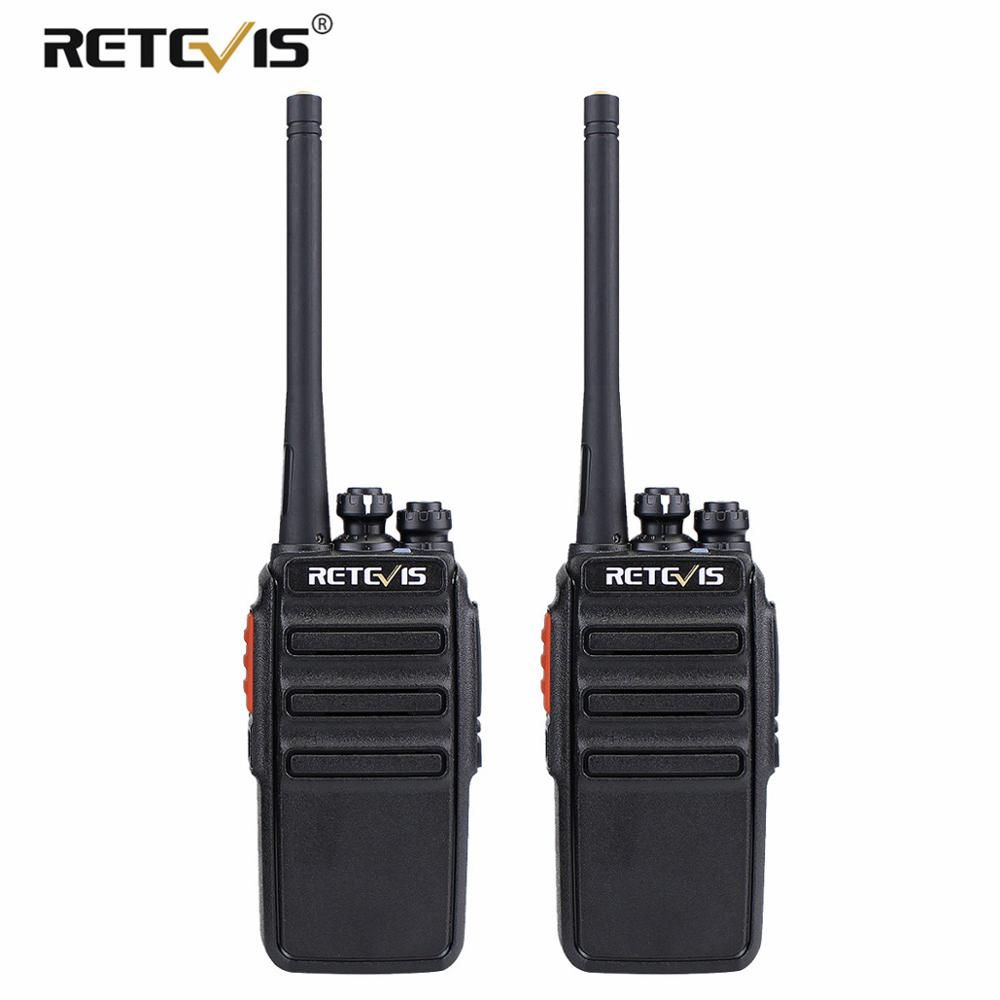 A Pair RETEVIS RT24 License-free PMR Radio Walkie Talkie PMR446 PMR 446MHz VOX CTCSS/DCS USB Charging Two Way Radio Transceiver
