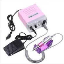 Electric Nail Manicure Set Drill Pedicure Glazing Machine 30000 RPM fingernail care kit system files shine salon nail polish