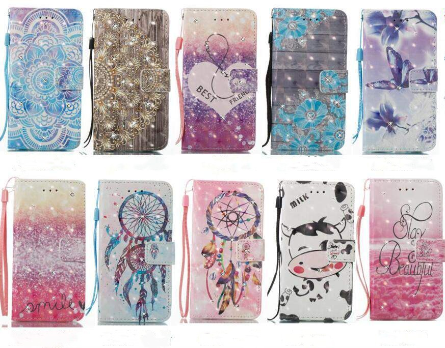 Блеск Avenir с алмазной мобильного телефона кобура браслет флип бумажник кобура для samsung galaxy S5 S6 S7 S6 край S8 плюс s9 плюс