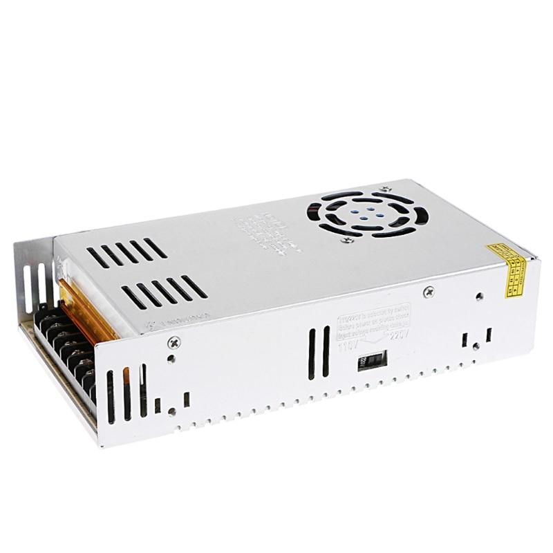 AC 100-220V To DC 24V 15A 360W Switch Power Supply Driver Adapter LED Strip Light   W315 4pcs 12v 1a cctv system power dc switch power supply adapter for cctv system