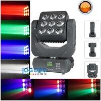 Free Shipping Led Beam Matriz de leds Moving Head Light 9x10W RGBW 4in1 DJ Lighting Effect Matrix Light DMX Wireless Moving Beam